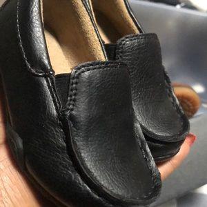 Size 5 infant Black dress shoes